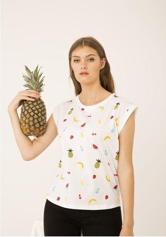 camiseta-frutas-cerezas-arletty