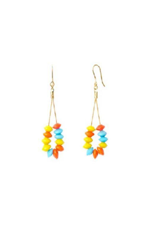 Pendientes-cristal-amarillo-celeste-naranja