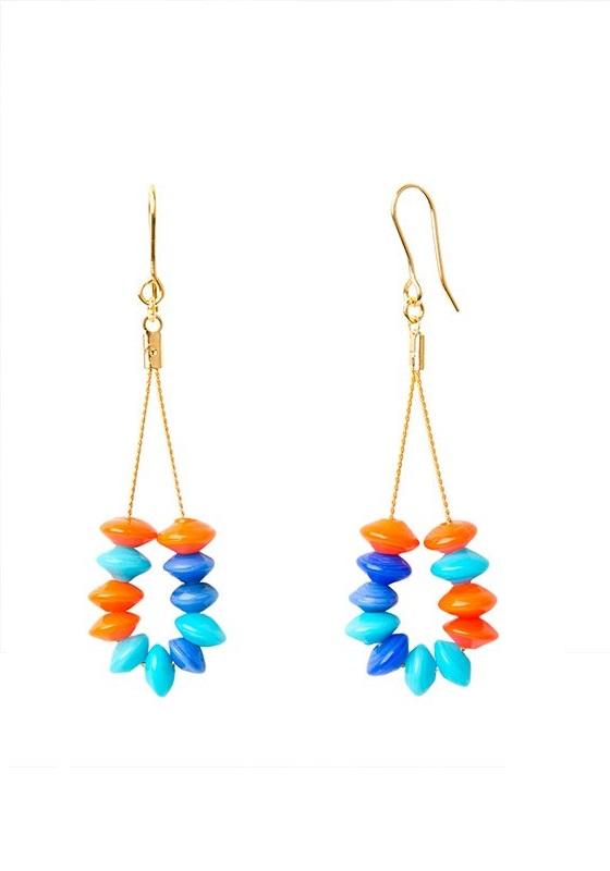 Pendientes-cristal-azul-celeste-naranja