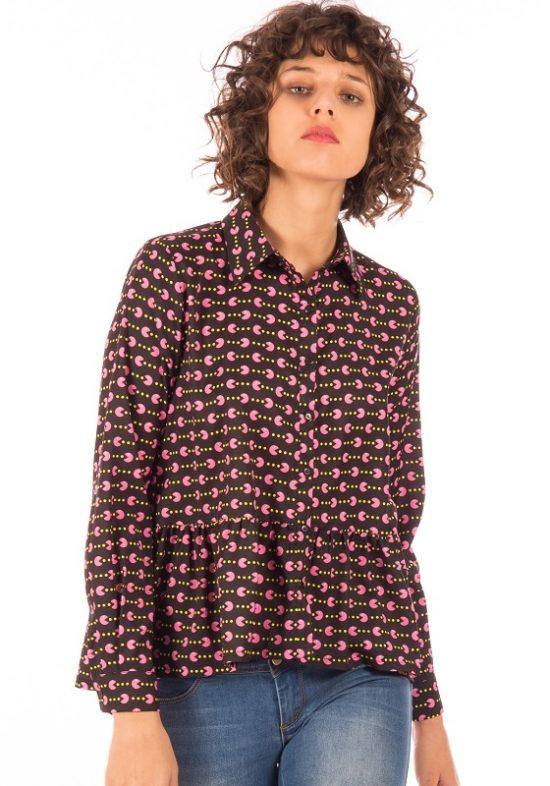 camisa-comecocos-pacman