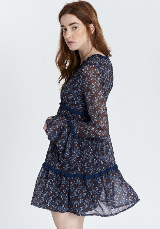 vestido-flower-flores-azul-mangas-campana