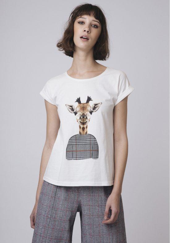 camiseta-ilustracion-de-jirafa