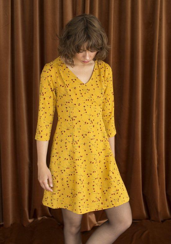 vestido-amarillo-estampado-flores-liston