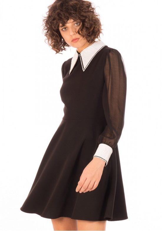 vestido-negro-lentejuelas-cuello