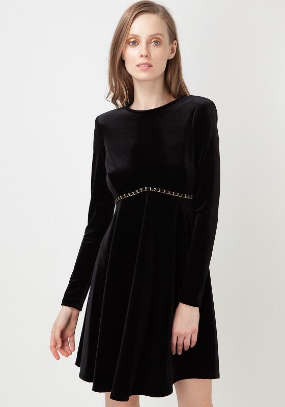 Vestido negro bonito