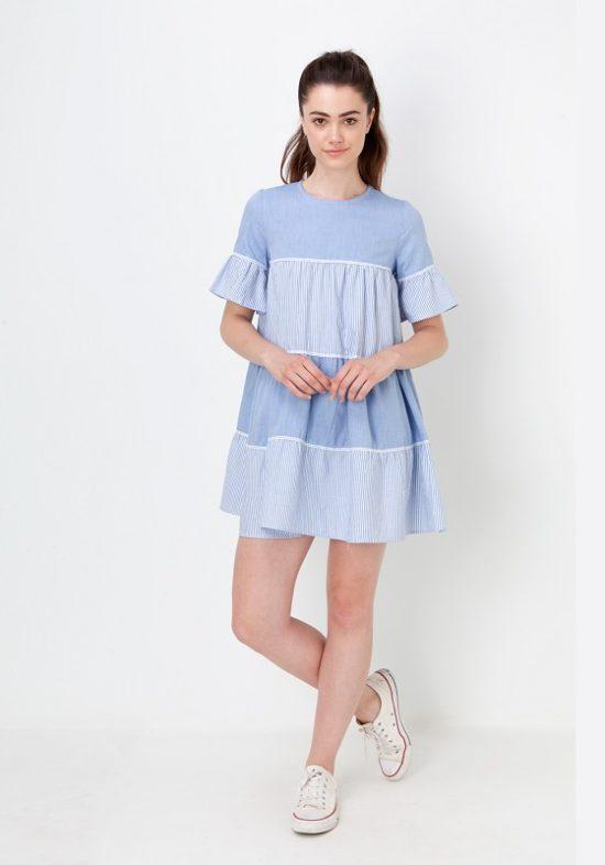 vestido-amplio-azul