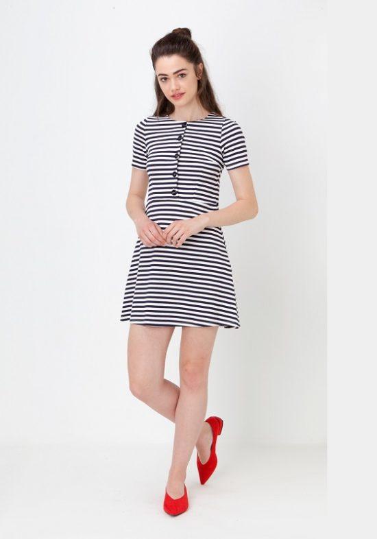 vestido-rayas-azules-blancas