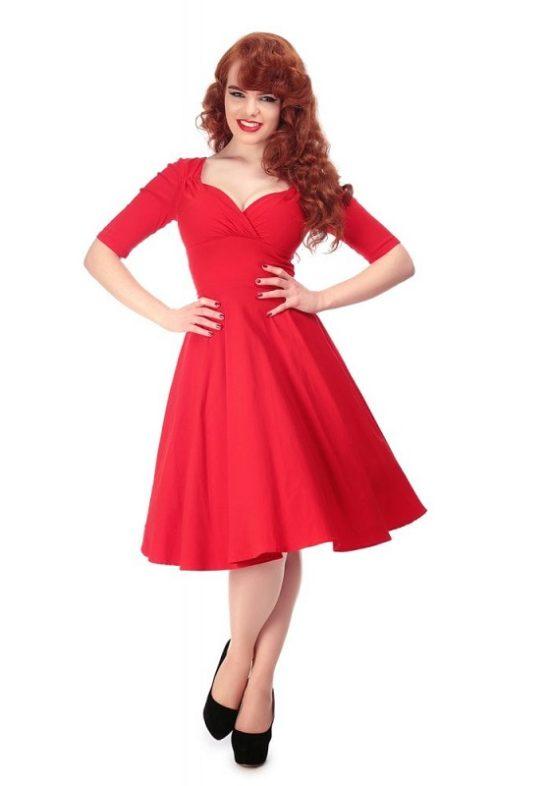 vestido-rojo-pinup-swing-trixie