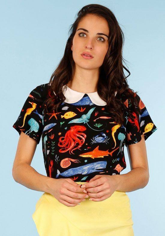 blusa-negra-estampado-marino-babydoll