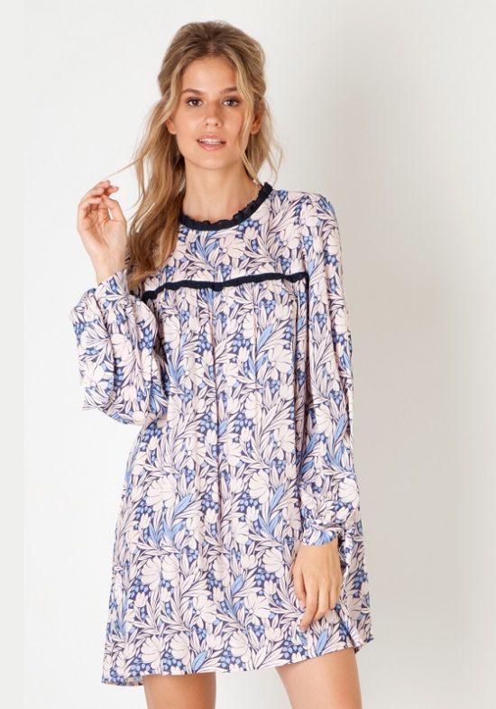 vestido-corto-estampado-floral-azul