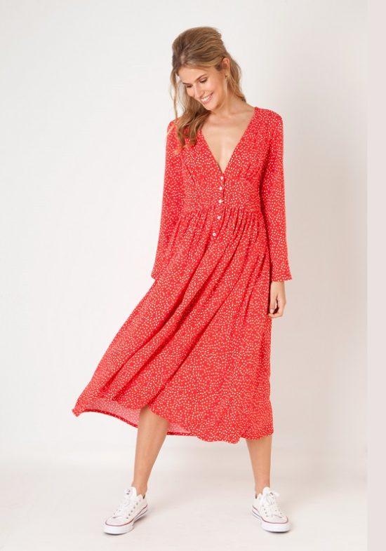 vestido-rojo-midi-corazones