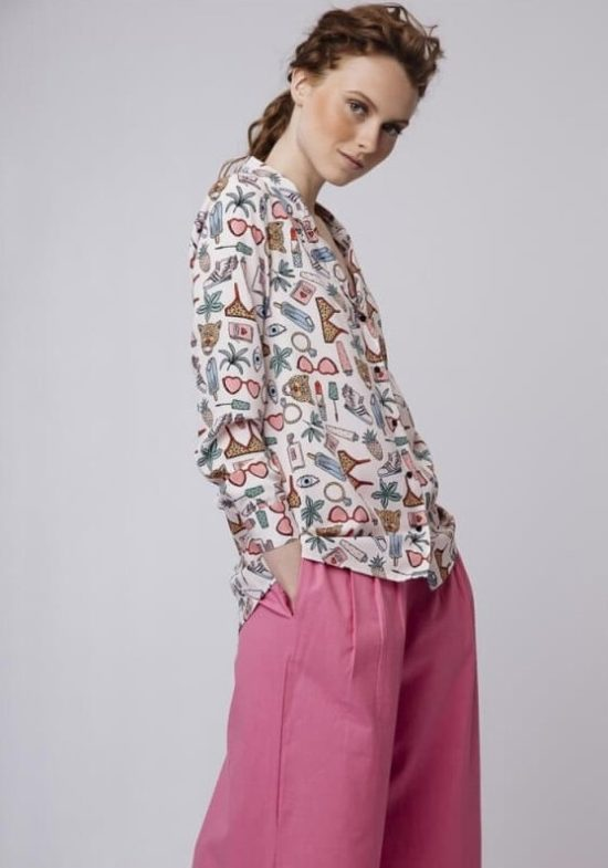 camisa-rosa-estampado-beach