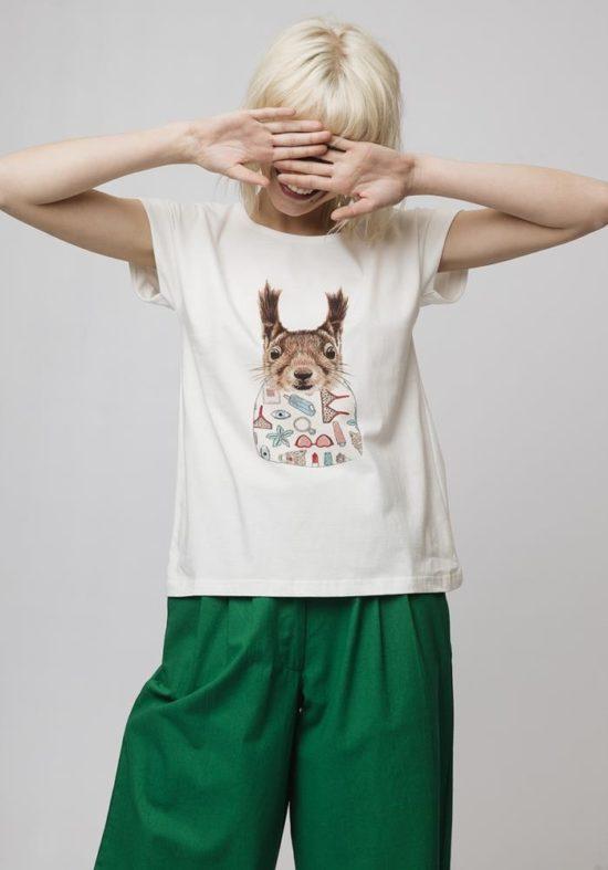camiseta-blanca-ardilla