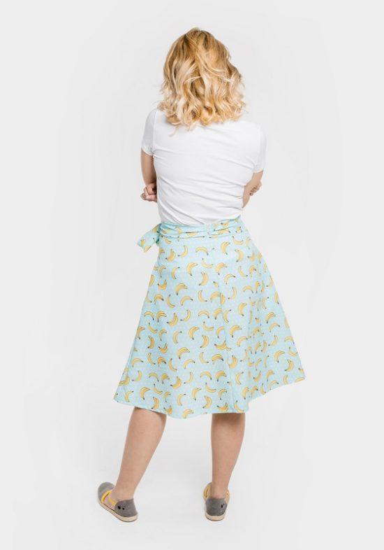 falda-platanos-turquesa-lazo