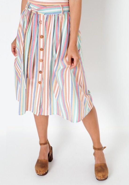 falda-rayas-multicolor-penelope