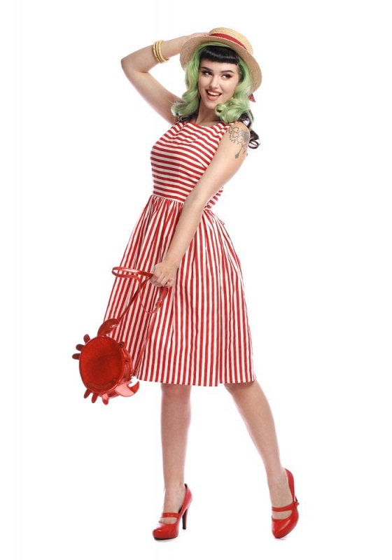 Vestido Candice Rojo
