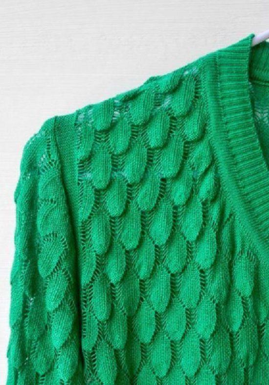 chaqueta-capadocia-punto-rebeca-verde-escamas