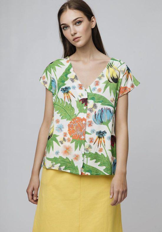 camisa-mangas-cortas-hojas
