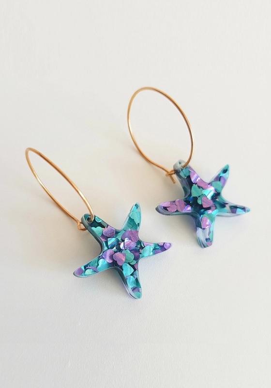 a651fc872a98 Pendientes Estrellas de mar mini