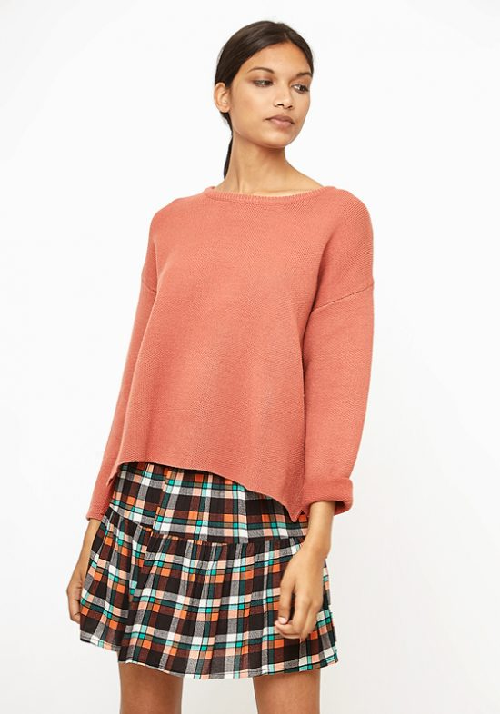 jersey-cuello-redondo-naranja-asalmonado