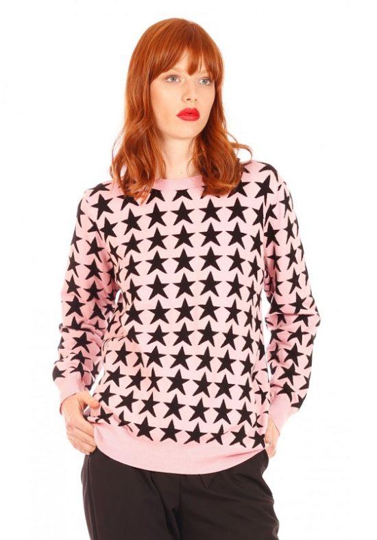 jersey-rosa-estrellas-negras