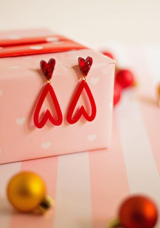 pendientes-metacrilato-corazon-duo-rojo