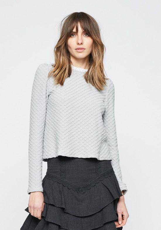 jersey-gris-textura-cuello-puntilla