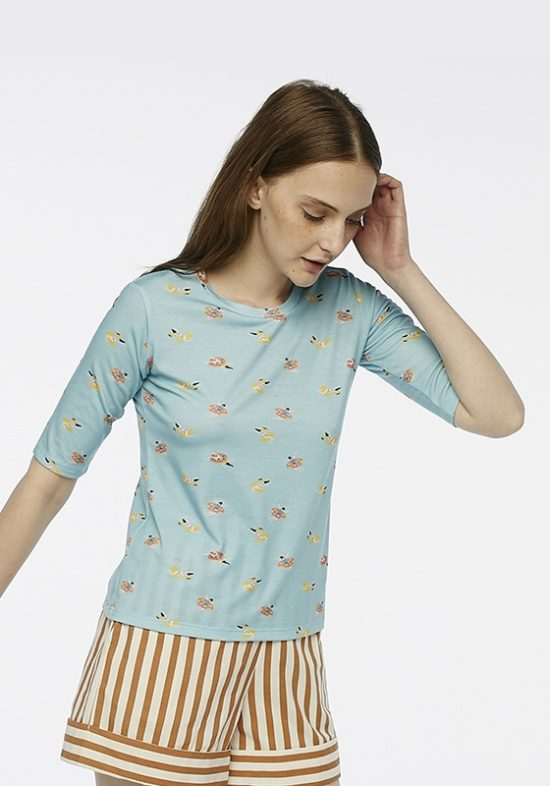 camiseta-azul-bañistas